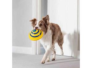 Игрушка диск для собак с пищащим звуком Гав планер
