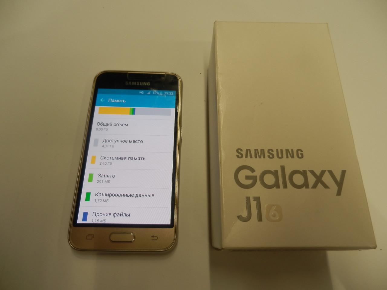 Мобильный телефон Samsung Galaxy J1 2016 SM-J120 259ВР