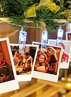 """Новогодняя гирлянда на батарейках из прищепок """"Невеста"""", фото 1"""