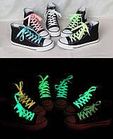 Шнурки светящиеся в темноте, 100 см