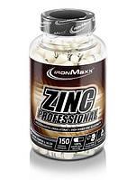 Витамины и минералы IronMaxx Zinc Professional (150 капсул)
