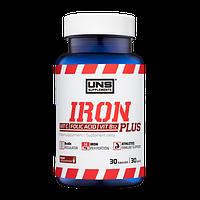 Железо UNS Iron Plus (30 капсул)