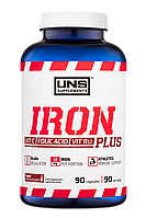 Залізо UNS Iron Plus (90 капсул) (106459) Фірмовий товар!