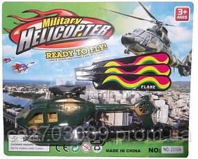 Вертоліт на блістері, літає