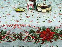Скатерть на стол новогодняя Новый год