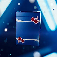 Карти гральні | Cherry Casino Playing Cards (Tahoe Blue) By Pure Imagination Projects