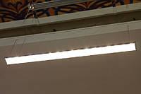 Магистральный светодиодный светильник LED (СИД) для производств, складов, пыльных помещений