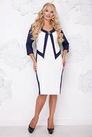 Стильное платье     (размеры 50-62) 0223-21, фото 1