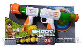 Пистолет, стреляет мягкими мячиками