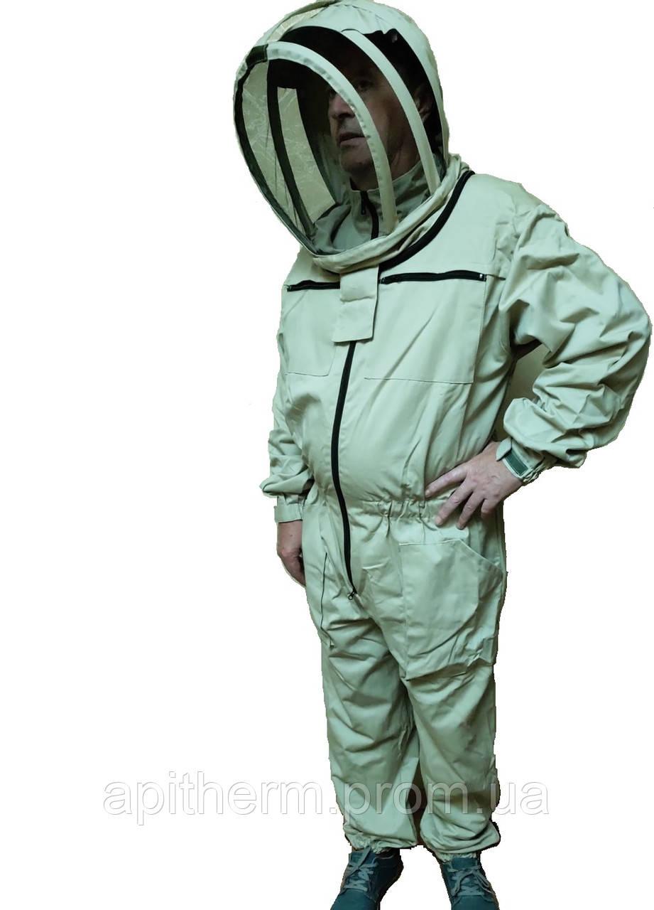 Комбинезон пчеловода Евро. 100% Коттон. Размер ХХXXL / 58-60