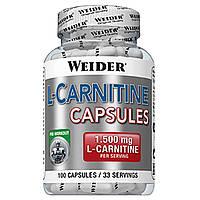 Л-карнитин Weider L-Carnitine 1500  (Body Shaper) (100 капс)