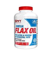 Рыбий жир SAN Omega Flax Oil (100 капс)