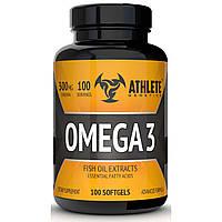 Рыбий жир Athlete Genetics Omega 3 (100 капсул)