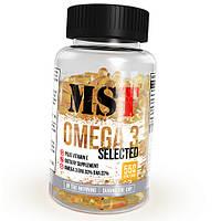 Рыбий жир MST Nutrition Omega 3 Selected (110 капсул) (106524) Фирменный товар!