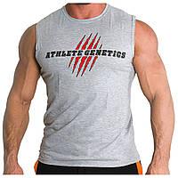 Безрукавка Athlete Genetics Only Hardcore (Grey)