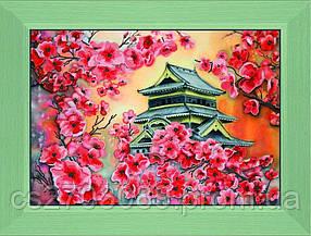 """Картина Вышивка бисером """"Цвітіння сакури"""" 30*40"""