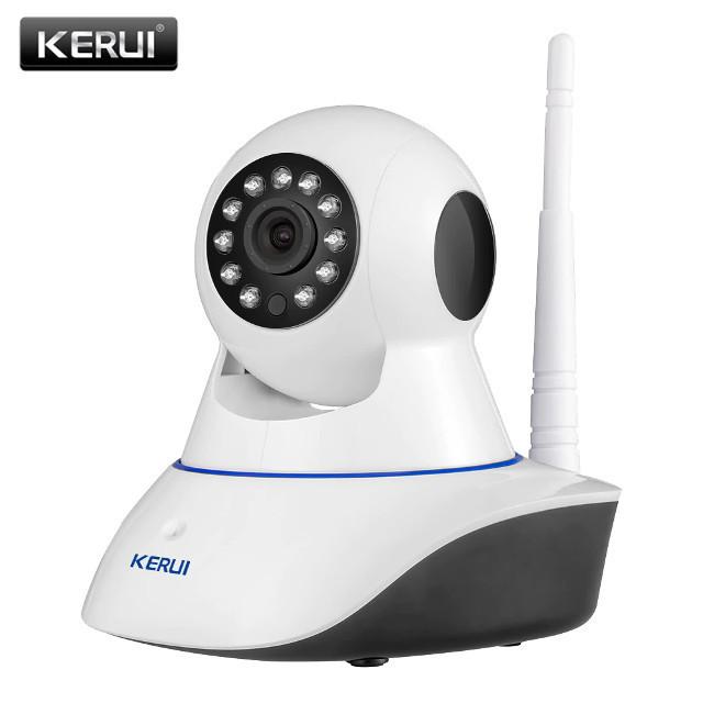 Беспроводная поворотная KERUI WI-Fi IP Camera z05 z-06 z06 z-05 с ночной подсветкой