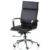 Компьютерное кресло Special4You Solano 4 artleather black (E5210) для офиса, фото 1