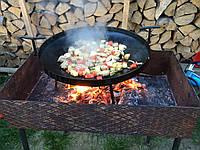 Сковорода из диска бороны для пикника 30 см. Д-004, фото 1