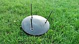 Сковорода из диска бороны для пикника жарки  мангал 30 см. Д-004, фото 3
