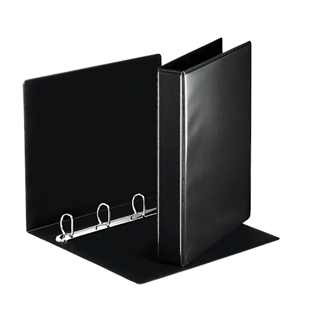 Презентационная папка Esselte Panorama ширина торца 30 см (280 листов) чёрная