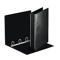 Презентационная папка Esselte Panorama ширина торца 30 см (280 листов) чёрная, фото 1