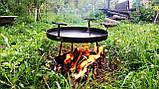 Сковорода из диска бороны для пикника жарки  мангал 30 см. Д-004, фото 4
