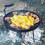 Сковорода из диска бороны для пикника жарки  мангал 30 см. Д-004, фото 5