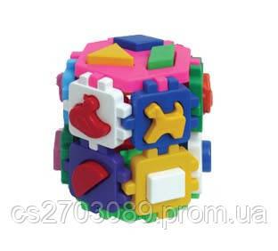 """Куб """"Розумний малюк Конструктор"""", фото 2"""