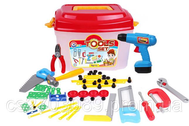 Набор инструментов с дрелью, фото 2