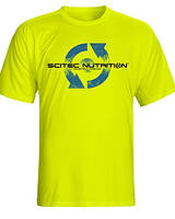 Футболка Scitec Nutrition T-Shirt Neon Green '96