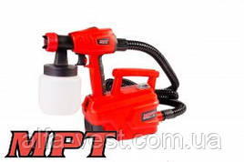 MPT  Краскопульт электрический 500 Вт 800 мл, 50 DIN/сек., Ø 1,8-2,6 мм, 850 мл/мин, 1,5-2,5 бар, Арт.: MESG5005