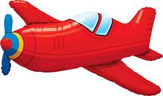 Фол шар фигура Самолет красный (Китай)