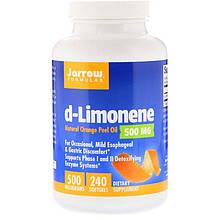 "D-лимонен Jarrow Formulas ""d-Limonene"" 500 мг (240 гелевых капсул)"