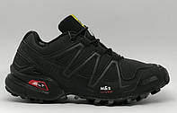 Ботинки мужские зимние Slm 16076_1 черные реплика