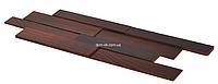 Мозаика из дерева Коллекция «3D»  Brick , разные цвета Ясень Thermo Wood