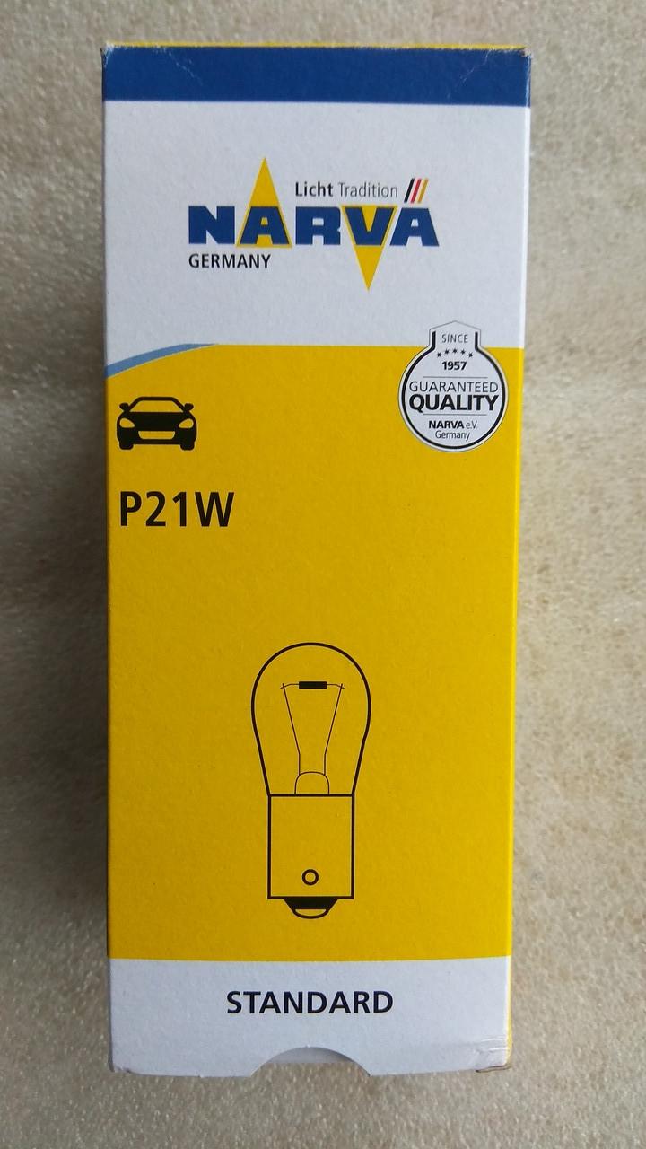 Лампа Narva  P21W 12v 21w