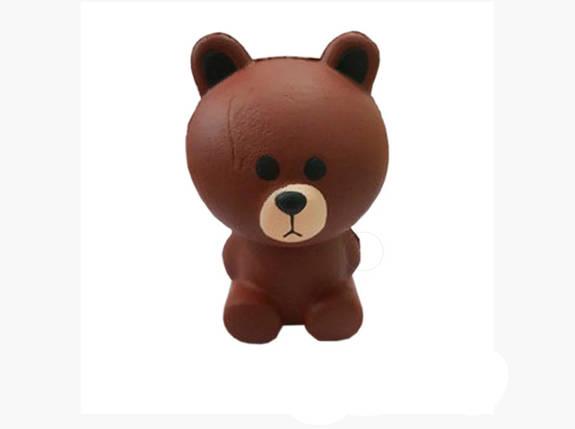 Анти-стресова іграшка сквиш Грізлі, фото 2