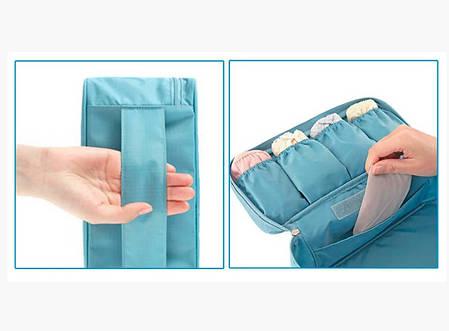 Органайзер для белья и косметики - Голубой, фото 2