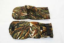 Рибальські рукавиці рукавиці LeRoy (очерет, Alova), фото 3