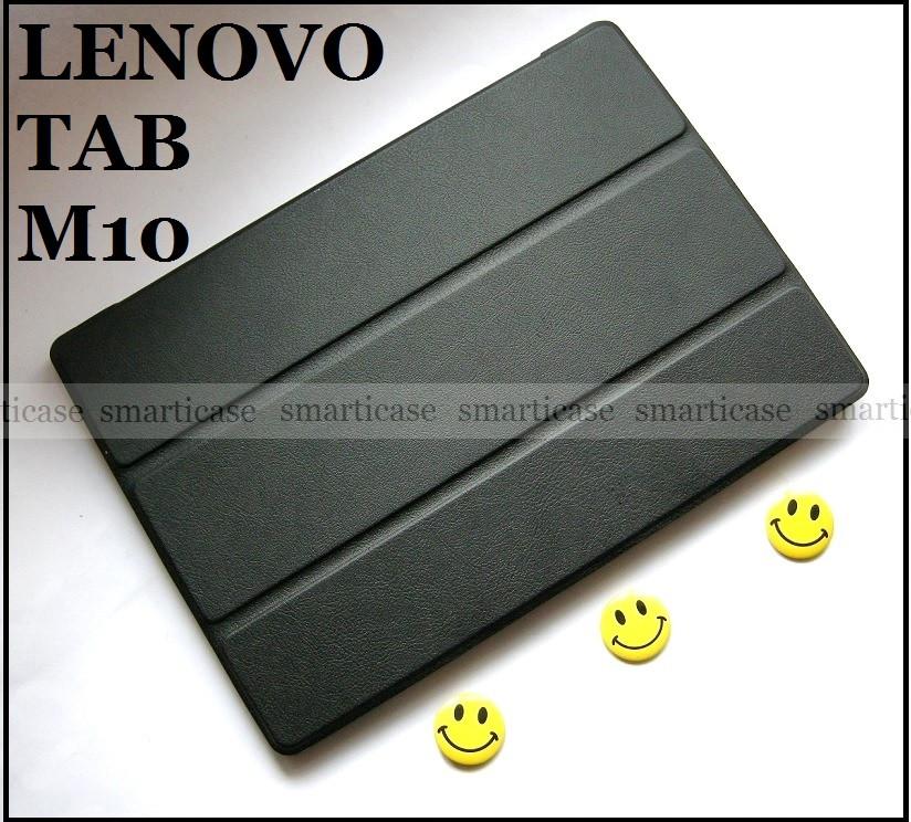 Черный чехол книжка Lenovo Tab M10 (Tb-X605L x605F X505F X505L) полноценная защита
