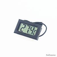 Электронный Термометр с выносным датчиком, длина провода 1м, фото 1