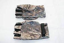 Перчатки - варежки для охоты и рыбалки LeRoy (камыш, дюспо бондинг), фото 2