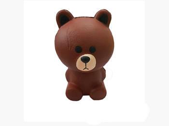 Анти-стрессовая игрушка сквиш Гризли
