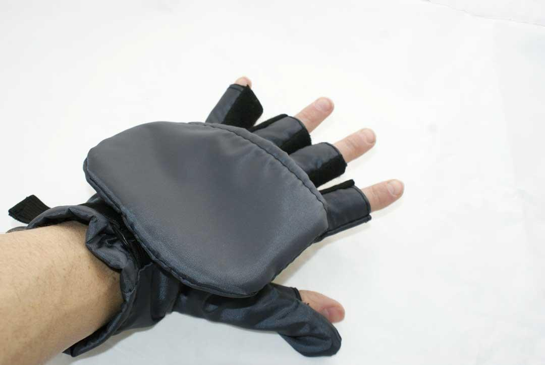 Перчатки - варежки для охоты и рыбалки LeRoy (хаки, oxford)