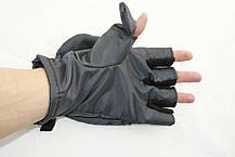 Перчатки - варежки для охоты и рыбалки LeRoy (хаки, oxford), фото 2
