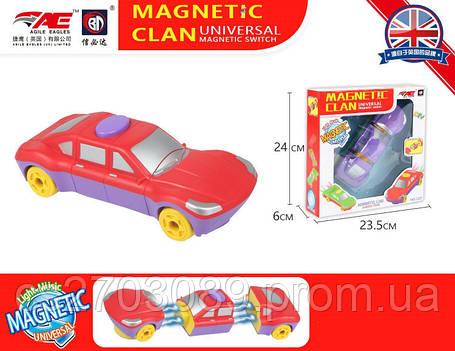 Конструктор Авто на на магнитах, работает от батарей, фото 2