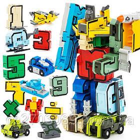 Цифры - трансформеры в наборе