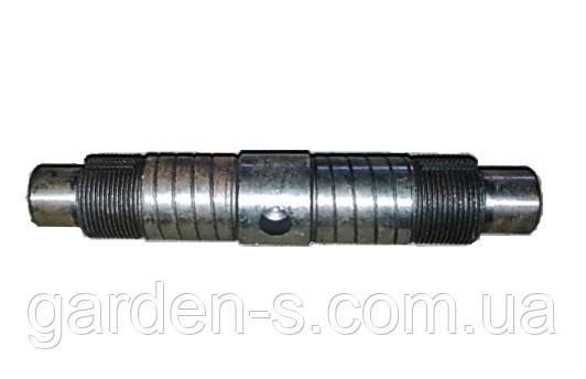 Вал дифференциала мототрактора Тип 2 (мелкая резьма со шлицом)