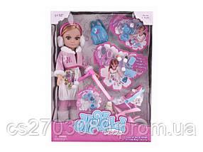 Кукла 43 см с коляской и аксессуарами